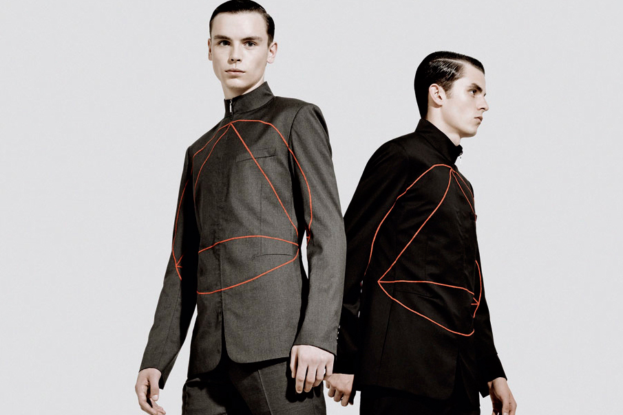 """Dior Homme 2013 Fall/Winter """"Binary"""" Editorial by Neil Bedford"""