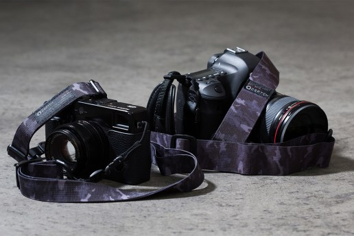 DSPTCH Black Camo Camera Slings