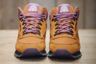 "Foot Patrol ""Winterizes"" the Reebok Classic Leather Mid"