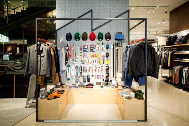 Heather Grey Wall ESTNATION Pop-Up Store