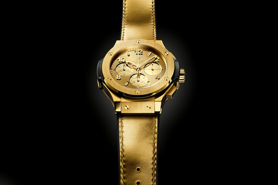 Hublot Big Bang Zegg & Cerlatti Yellow Gold Watch