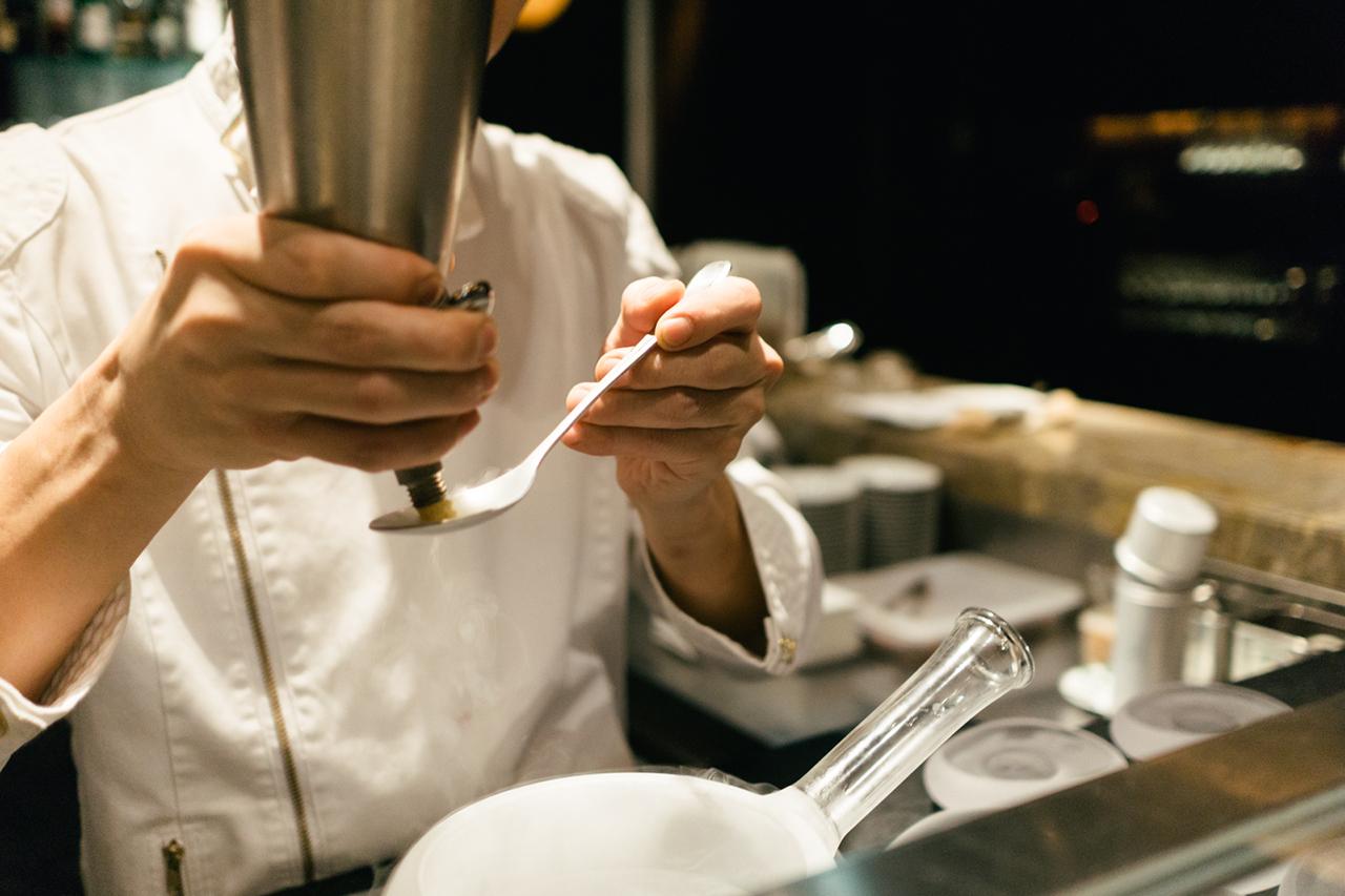 hypebeast road trips japan eats at the tapas molecular bar at the mandarin oriental