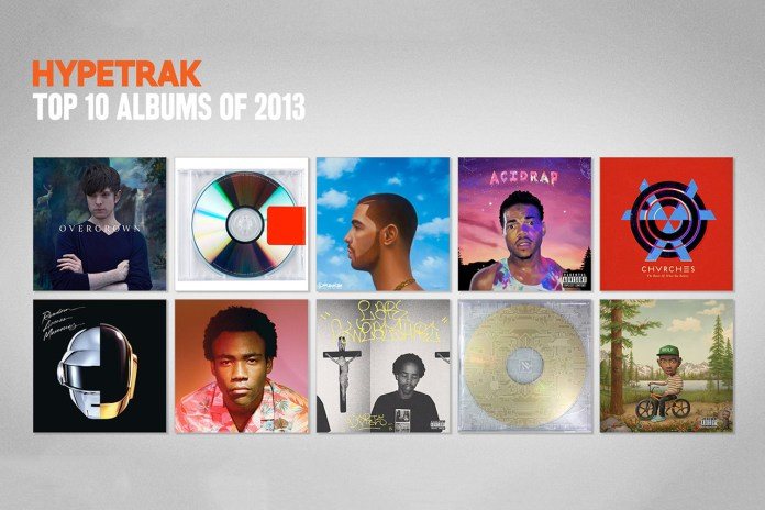HYPETRAK Picks Its Top 10 Albums From 2013
