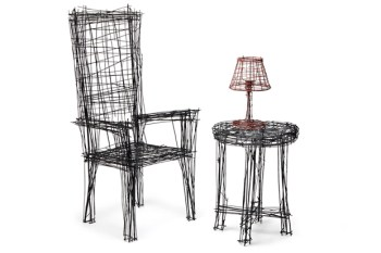 Jinil Park Turns Hand-Drawn Furniture Into Reality