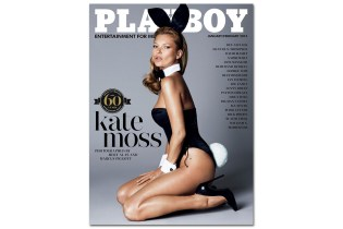 Kate Moss for Playboy's 60th Anniversary Issue