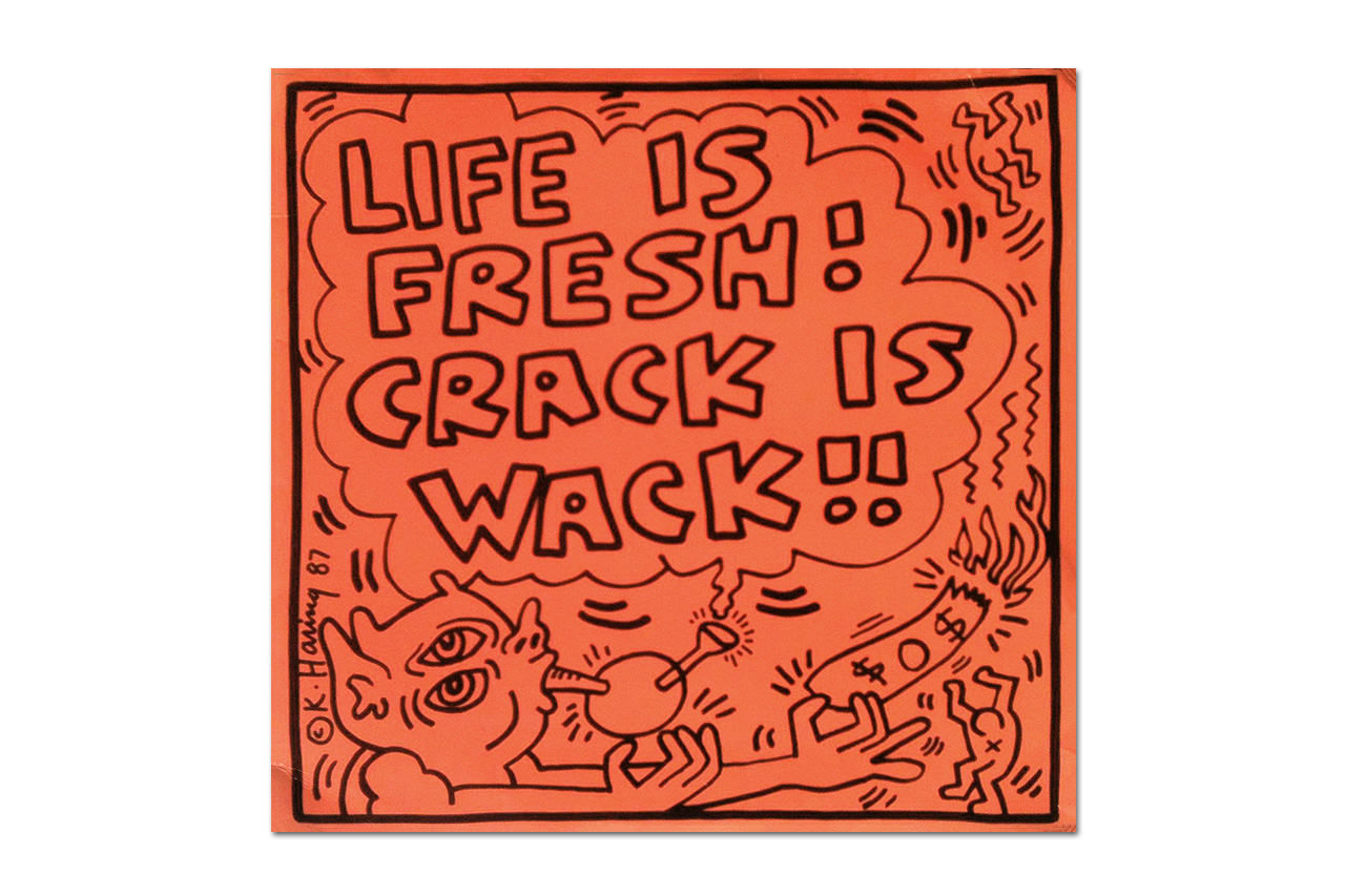 "Keith Haring ""Ephemera, 1979-1990"" Online Exhibition @ Gallery98"