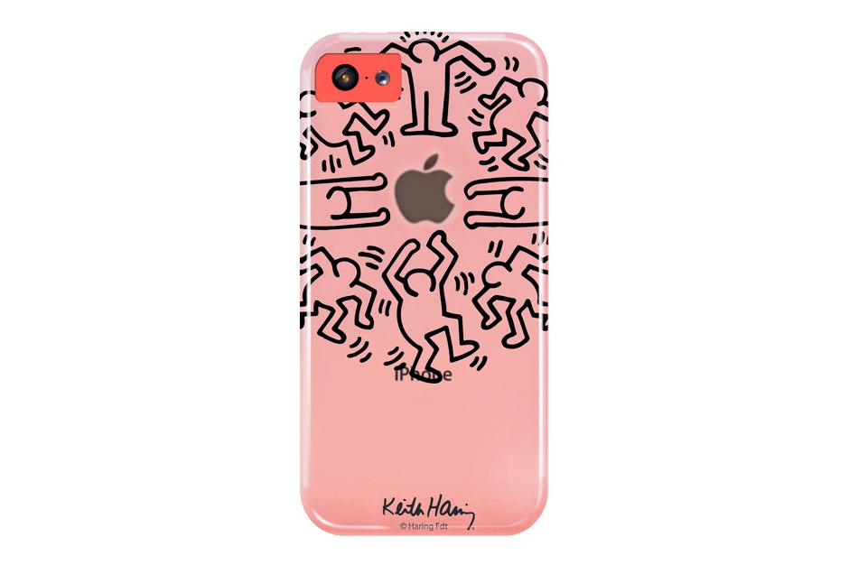 Keith Haring x case scenario iPhone 5c Crystal Case Collection
