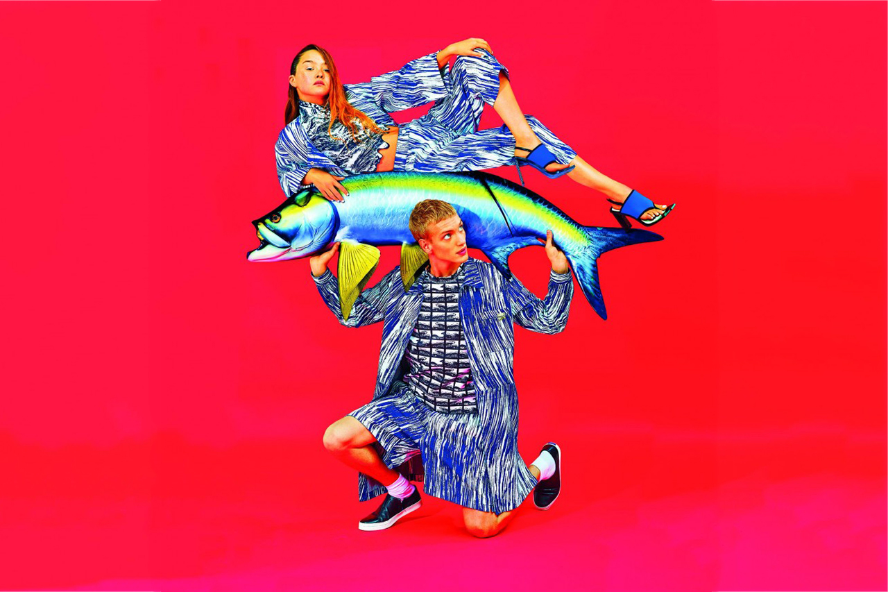 KENZO 2014 Spring/Summer Campaign Preview