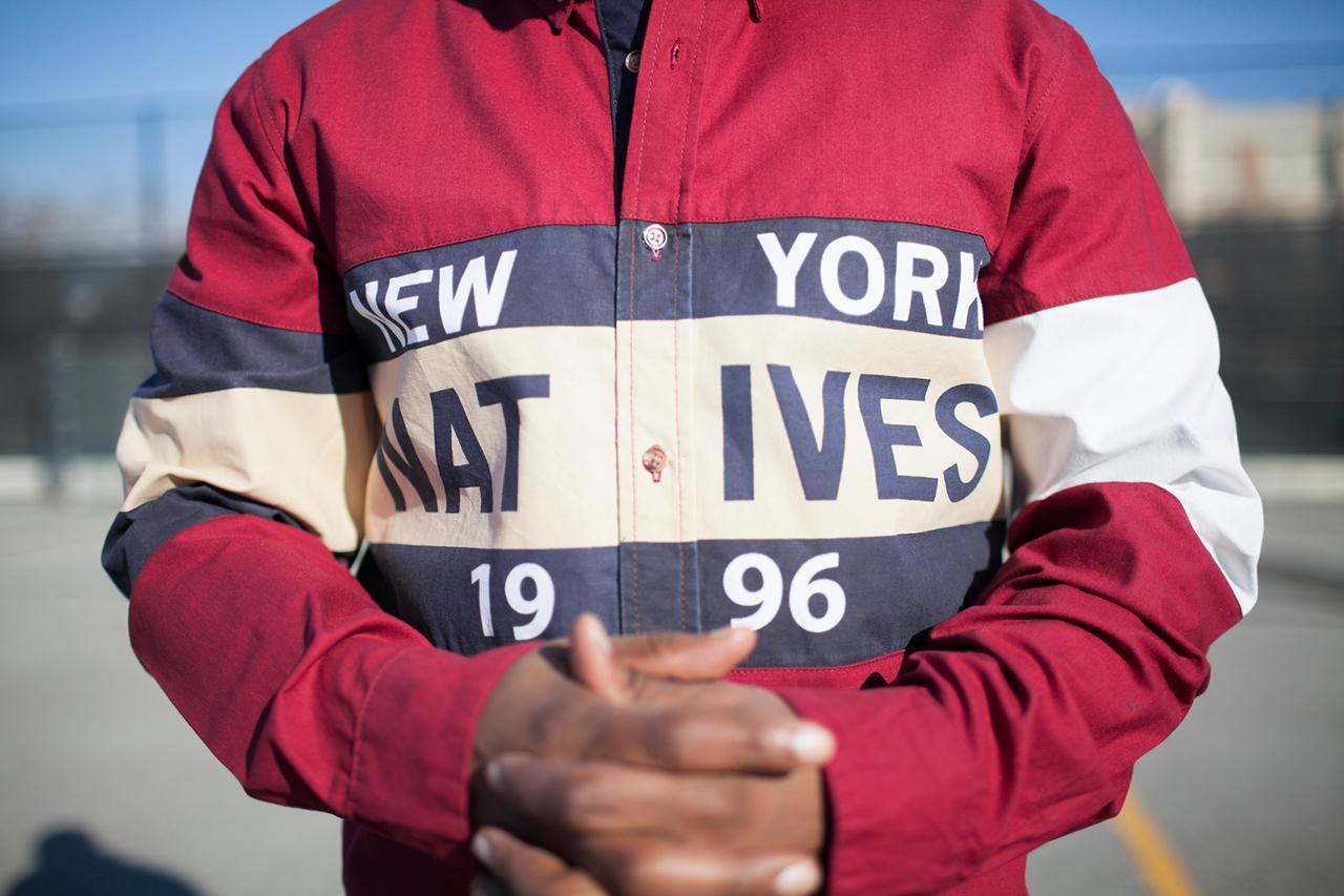"""Kith 2013 Fall/Winter """"New York Natives 1996"""" Lookbook featuring AZ"""