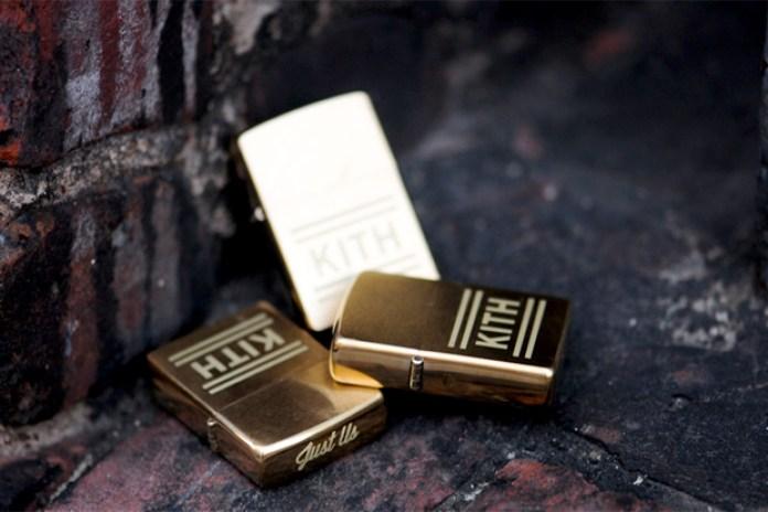 Kith Gold Zippo Lighter