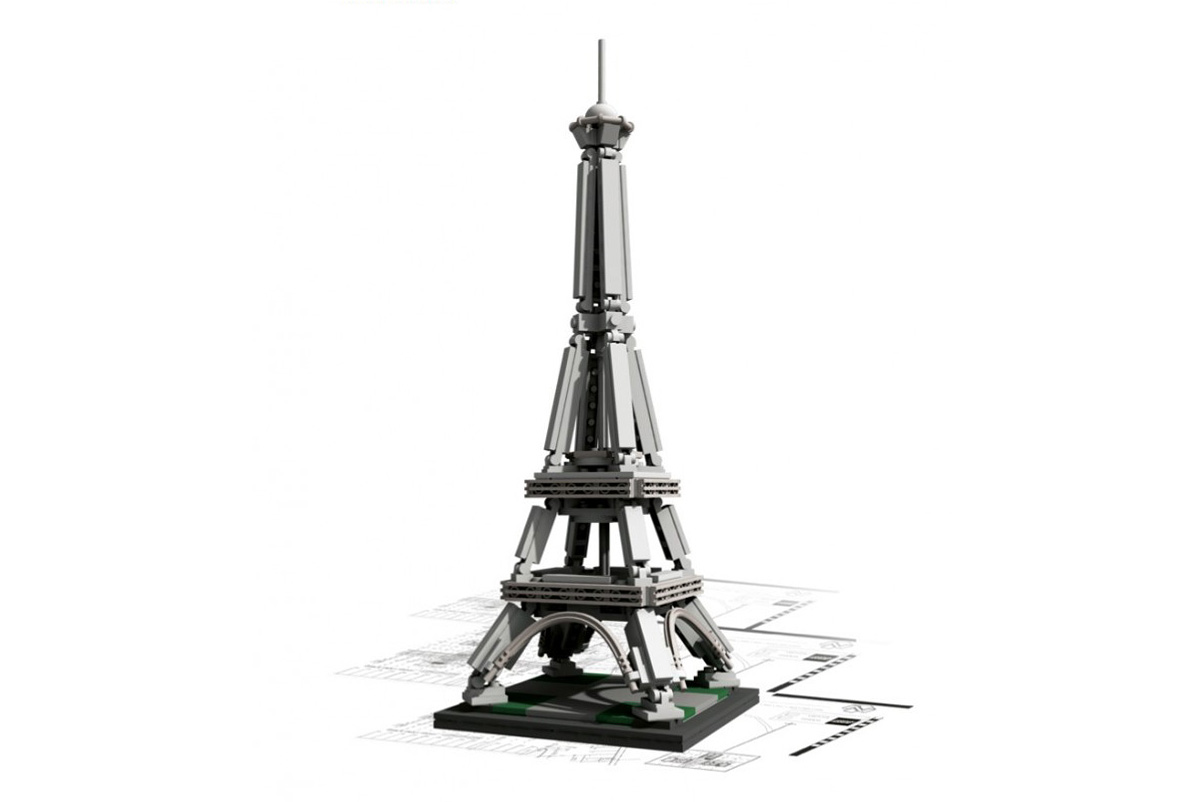 LEGO® Architecture Landmark Series: The Eiffel Tower