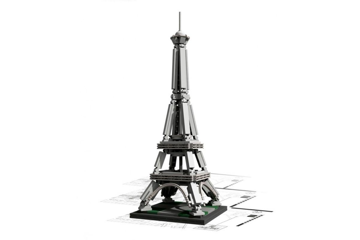 lego architecture landmark series the eiffel tower