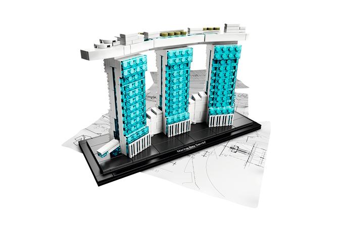 LEGO® Architecture Series Marina Bay Sands