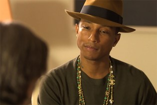 Leonard Nimoy & Pharrell Williams Talk Spock and Star Trek
