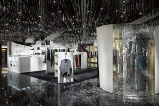 "L'ESPACE Maison Martin Margiela ""Cadeau"" Interior at ISETAN's Shinjuku Store in Japan"