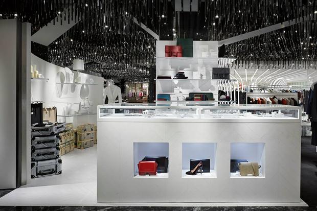 "L'ESPACE Maison Martin Margiela ""Cadeau"" Interior at ISETAN's Shinjuku Store in Japan"