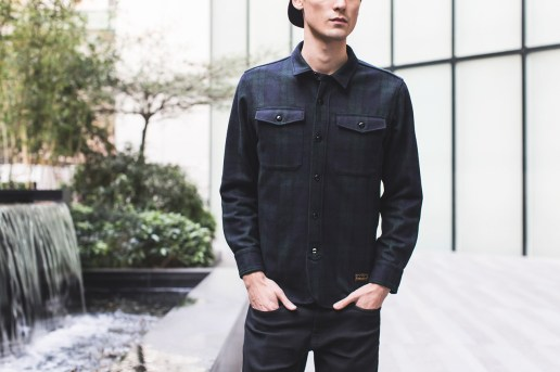 M.V.P. x NEIGHBORHOOD 2013 Fall/Winter Navy NHMV.WOOL Shirt
