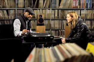 Madlib Visits Radio France's Vinyl Record Library