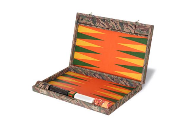 maharishi bonsai championship backgammon set