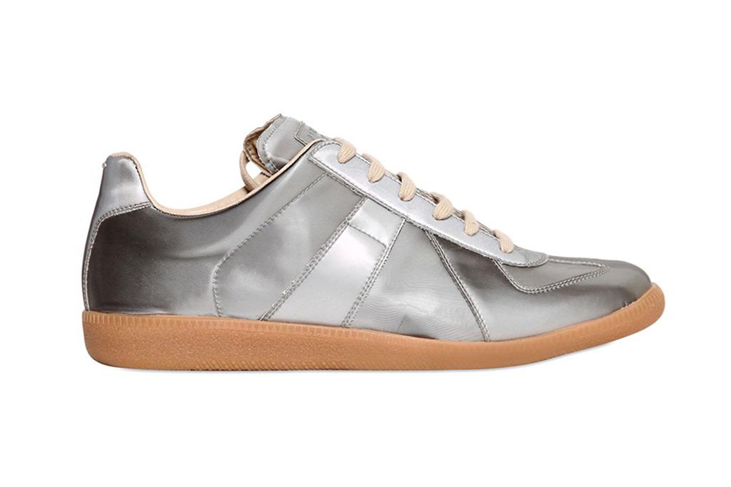 Maison Martin Margiela 22 Silver Replica Sneakers