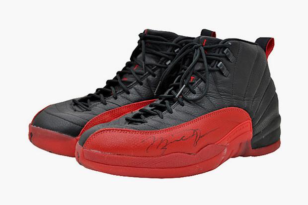 """Michael Jordan's """"Flu Game"""" 12s Sell for $104,000"""