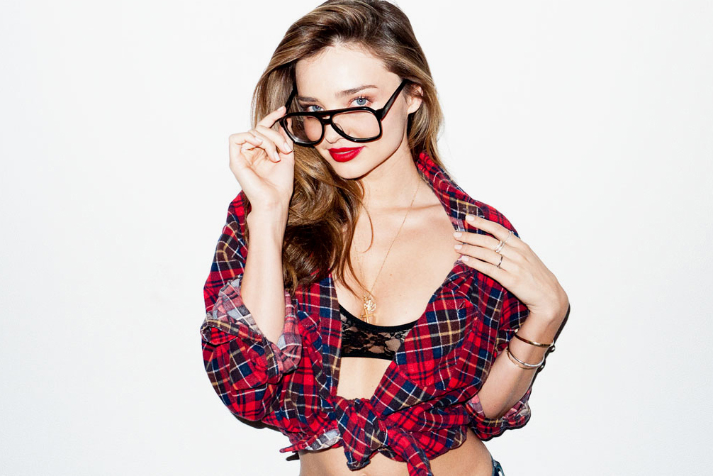 Miranda Kerr Visits Terry Richardson's Studio