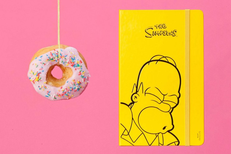 The Simpsons x Moleskin Limited-Edition Collection