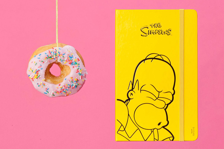 moleskine simpsons limited edition collection