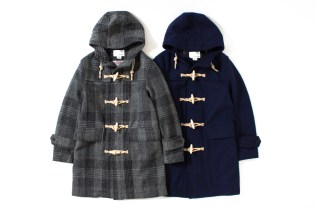nanamica 2013 Winter Harris Tweed Duffle Coat