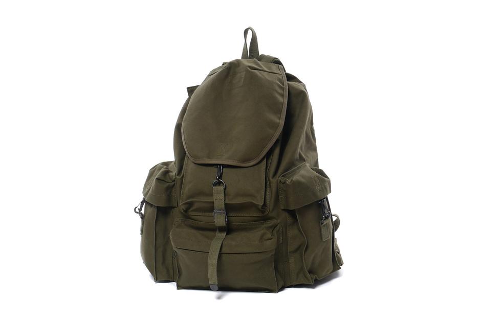 Nexusvii x porter mil back pack hypebeast for Bape x porter backpack
