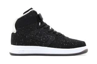 Nike 2013 Holiday Lunar Force 1 Lux High VT Black/Black