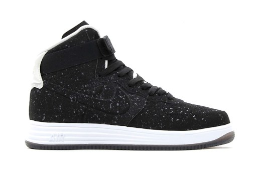 Nike 2013 Holiday Lunar Force 1 Lux High VT Black/Black