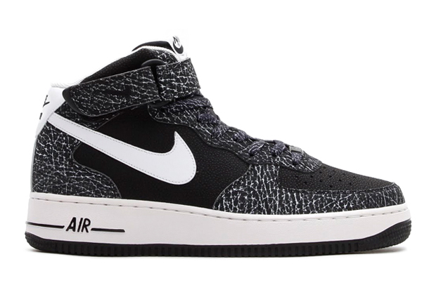 nike air force 1 mid o7 blackwhite