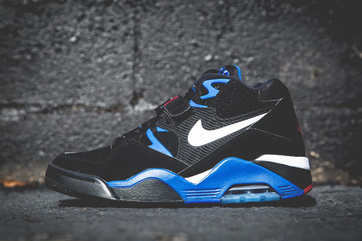 Nike Air Force 180 Black/Sport Royal