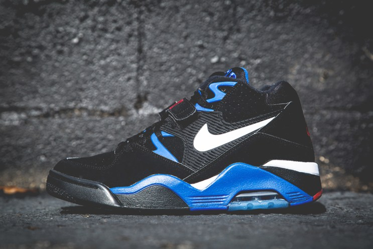 Nike Air Force 180 Black/Sport Royal