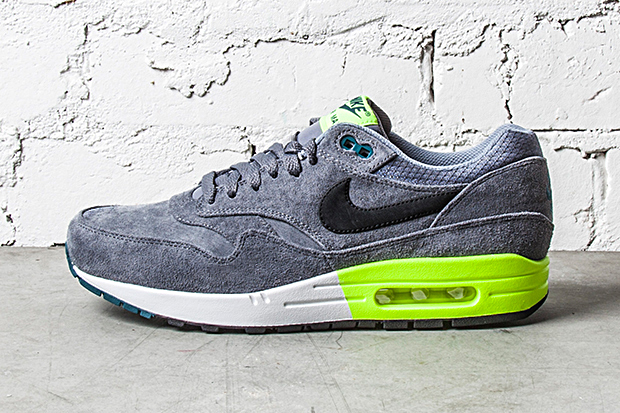 Nike Air Max 1 PRM Grey/Volt