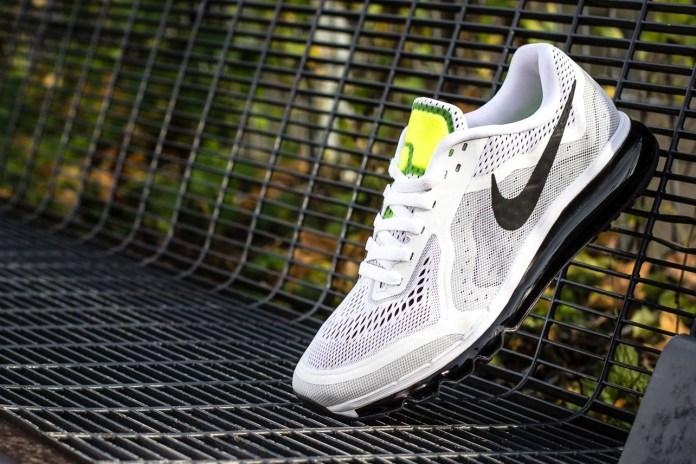 Nike Air Max 2014 White/Black-Pure Platinum-Volt