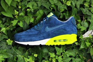 Nike Air Max 90 PRM Navy/Volt