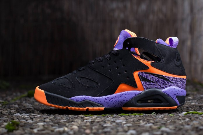 Nike Air Tech Challenge Huarache Black/Purple/Orange