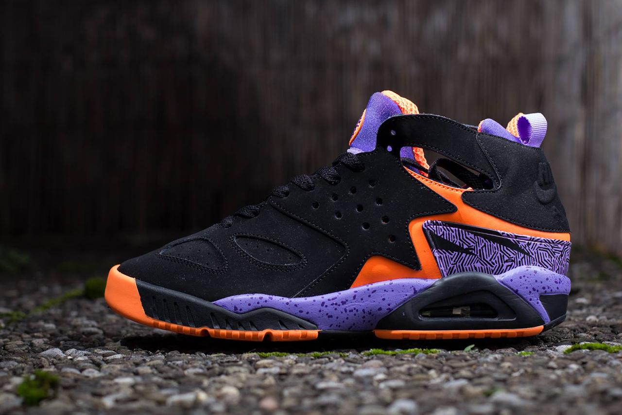 Nike Air Tech Challenge Huarache Black/Purple/Orange