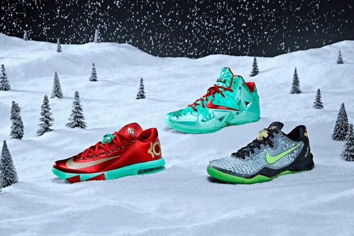Nike Basketball 2013 Christmas Pack