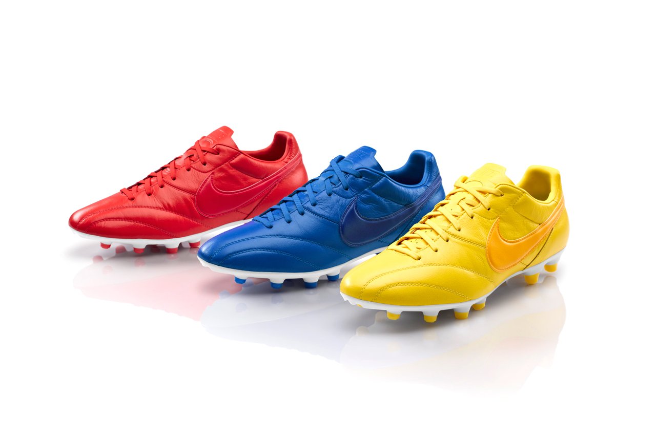 nike football debuts brazil france and england editions of the premier boot