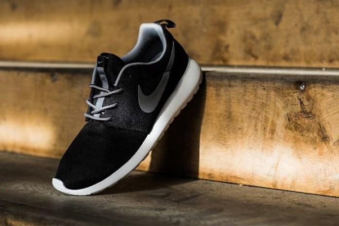 Nike Roshe Run Black/Grey
