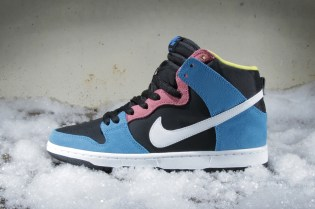 Nike SB Dunk High Pro Blue Hero/White-Black