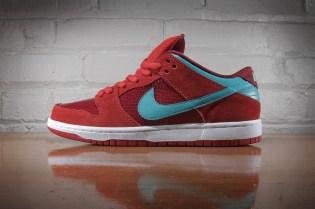 Nike SB Dunk Low Pro Brickhouse/Turbo Green-Team Red