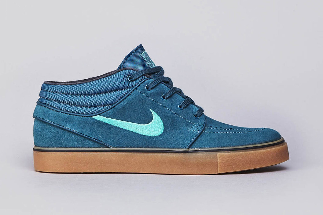 Nike SB Stefan Janoski Mid Night Factor/Crystal Mint