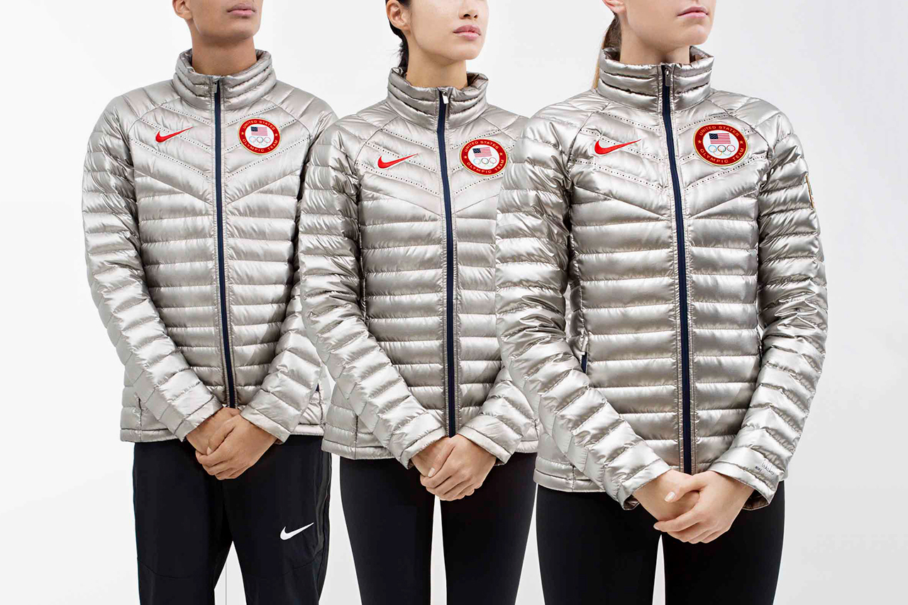 Nike Unveils Team USA Medal Stand Apparel for 2014 Sochi Winter Olympics