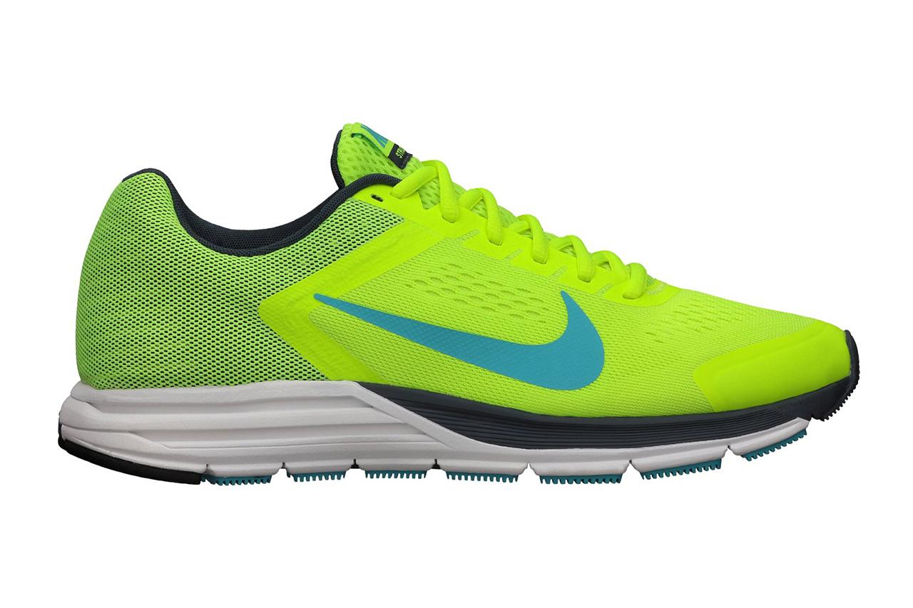 Nike Zoom Structure+ 17 Volt/Gamma Blue