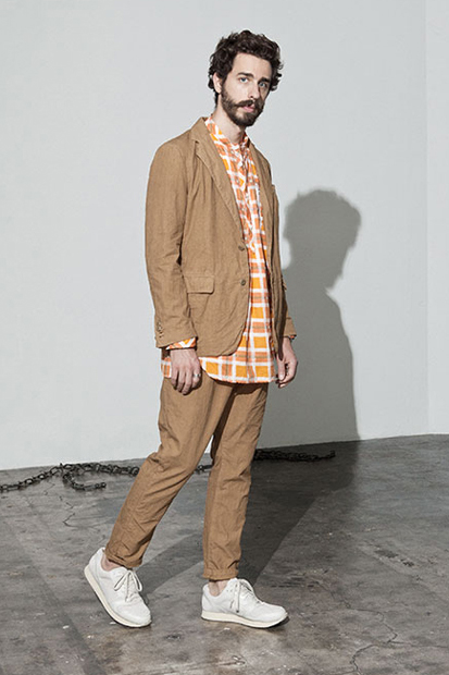 "nonnative 2014 Spring/Summer ""Subcity Dweller"" Lookbook"