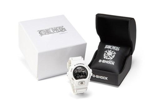 ONE PIECE x Casio G-Shock DW-6900